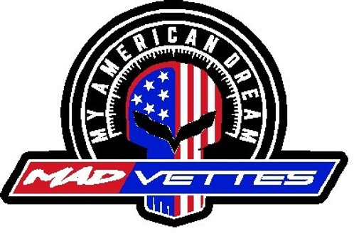 MAD Vettes Small Decal 4-Color - Jake