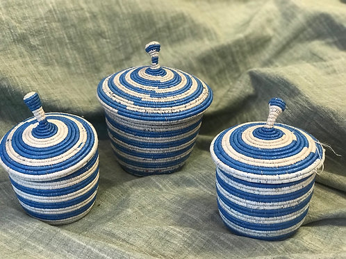 Medium Baskets with Lids