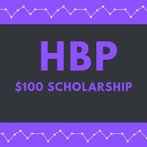 Heather Brooke Petersen Scholarship - $100