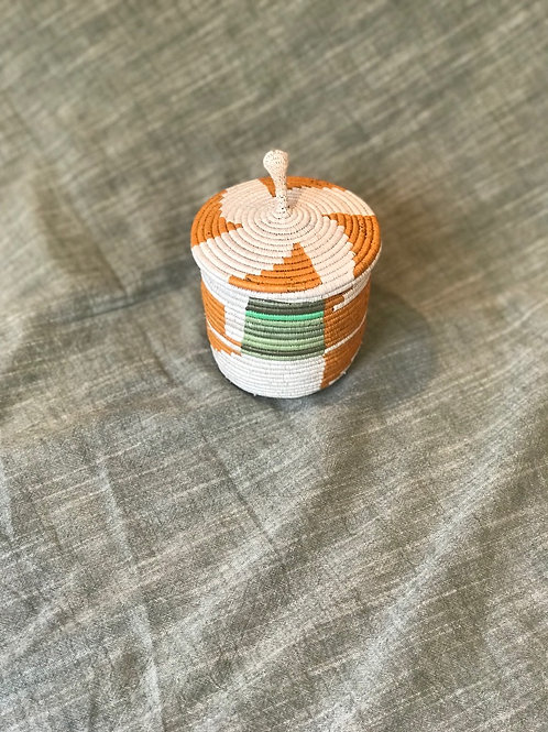 Small Basket with Lid