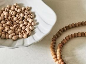Comment entretenir tes perles en bois ?