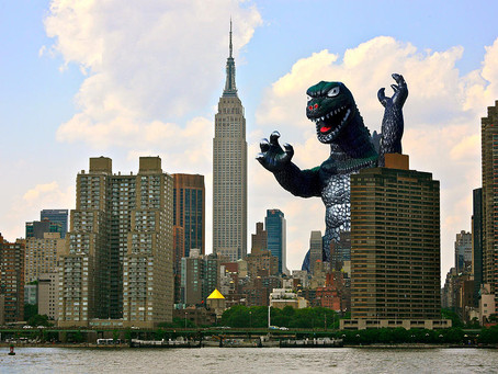 Godzilla and the Power of Positive Thinking