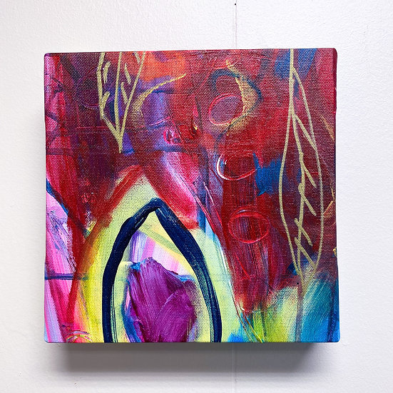 """Bowed Collection No.6; 8x8"""""""