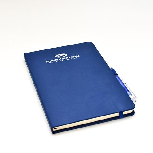 A5 Notebook Blue  & Pen