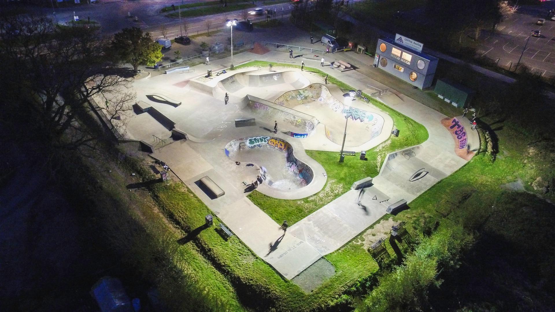 Hereford Skatepark Lighting