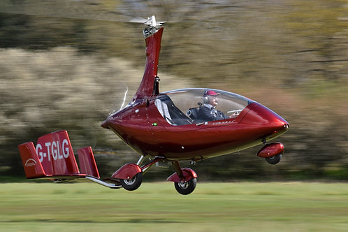 90 Minute Gyrocopter Experience Flight