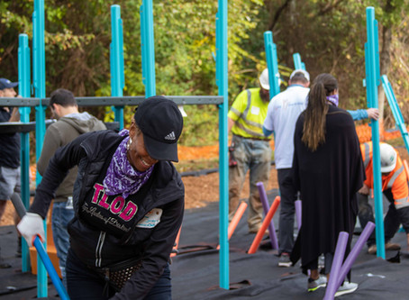 KaBoom! Partners with UCAP, Inc. to Bring Playground to Children of Shepard's Cove