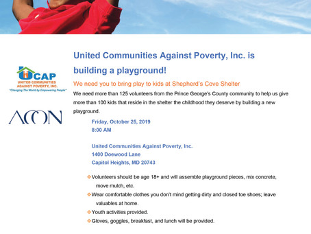 UCAP Needs Volunteers! RSVP and Register Today