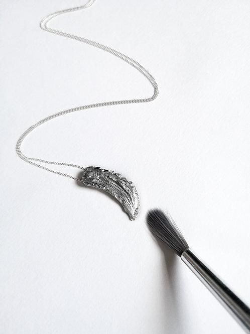 Vertical Brushstroke Necklace