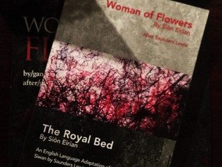 Woman of Flowers - the Royal Bed