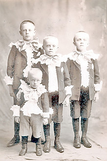 My Grandpa and his three older brothers