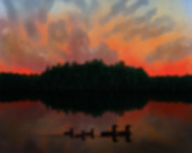 Landscapes-Series-Middle_Crooked_Lake_Wi