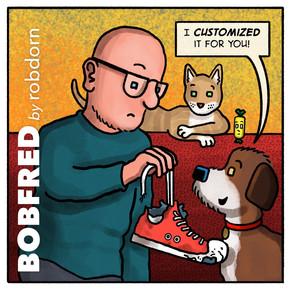 Shoe artist...