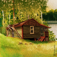 Cabin on Middle Crooked Lake