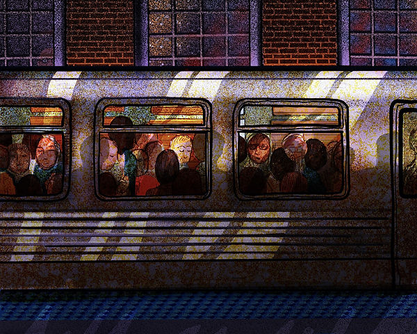 art-print-Chicago-series-rush-hour.jpg