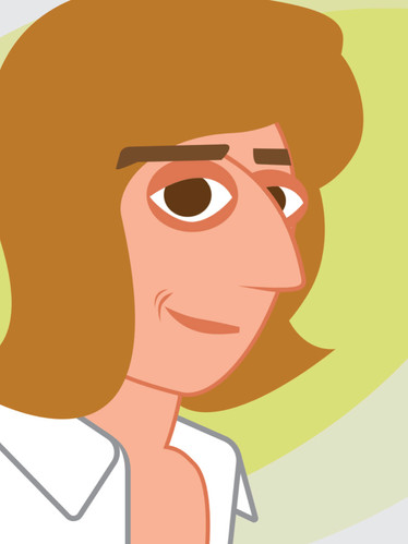 Barry Manilow Caricature