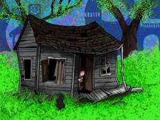 Dorothy lands in Oz