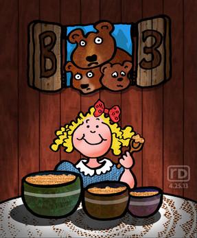 """Goldilocks and the Three Bears"""