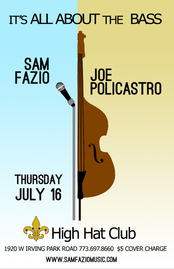 """Sam Fazio/""""It's All About The Bass"""""""