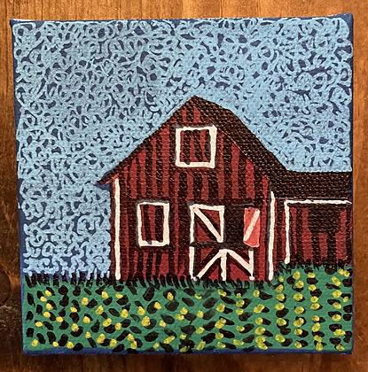 Folk Art Barn 4x4