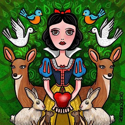 Symmetrical Snow White