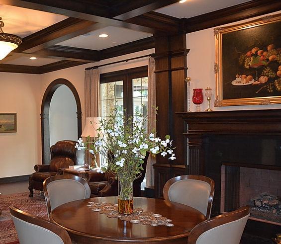 Interior wood work & custom stain