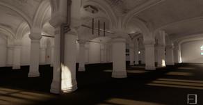 Point Cloud and Model for Interior of Sant Pau hospital, Barcelona, Spain