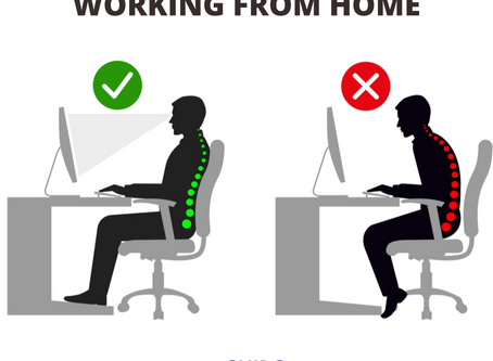 Ergonomics While Working from Home