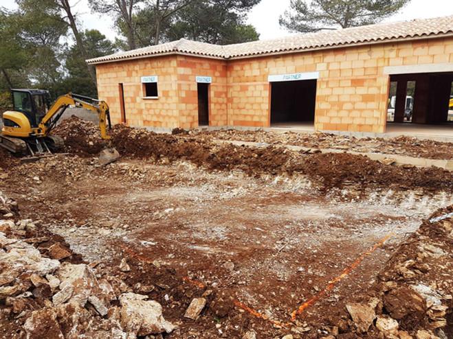 Construction de piscine - Hauts de Nîmes #1