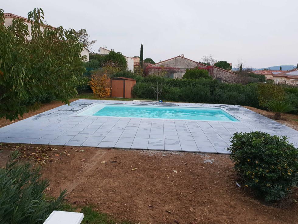 Aménagement extérieur d'une piscine à Nîmes #7