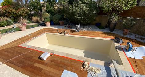 construction piscine liner artisan nimes