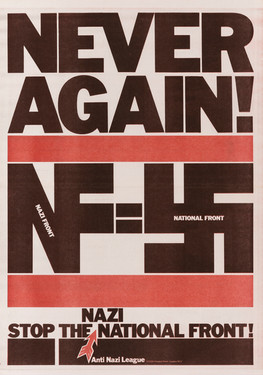 David King, Never Again!, Anti-Nazi League, 1978
