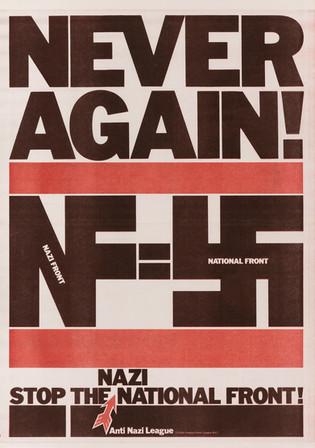 David King, Never Again!, Anti-Nazi League, 1978
