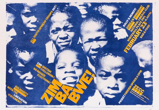 David King, Zimbabwe!, Zimbabwe Emergency Campaign Committee, Anti-Apartheid Movement, 1980