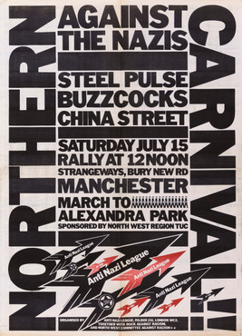 David King, Northern Carnival Against the Nazis, Rock Against Racism & Anti-Nazi League, 1978
