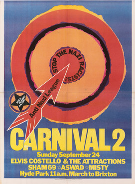 David King, Carnival 2, Rock Against Racism & Anti-Nazi League, 1978