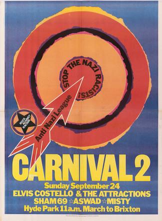 David King, Carnival 2, Rock Against Racism & Anti-Nazi League, 1978
