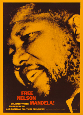 David King, Free Nelson Mandela!, Anti-Apartheid Movement, 1980