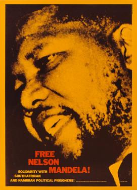 David King, Free Nelson Mandela!, Anti-Apartheid Movement, 1980