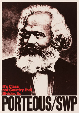 David King, It's Class not Country that Divides Us, Socialist Workers Party, 1978. Peter Porteous was the Socialist Workers Party candidate in a Glasgow by-election
