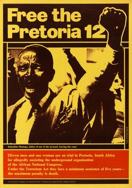 David King/Proletcult, Free the Pretoria 12, Anti-Apartheid Movement, 1977