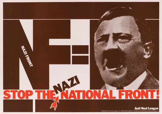 David King, NF = [Hitler], Anti-Nazi League, 1978