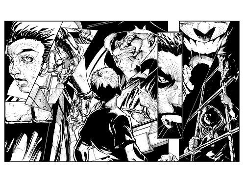 Spellbound #1, Page 16-17 - Inks