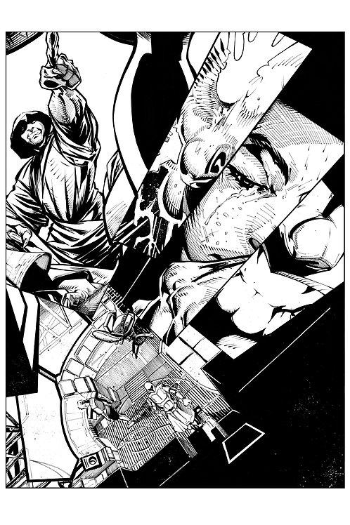 Spellbound #1, Page 21 - Inks