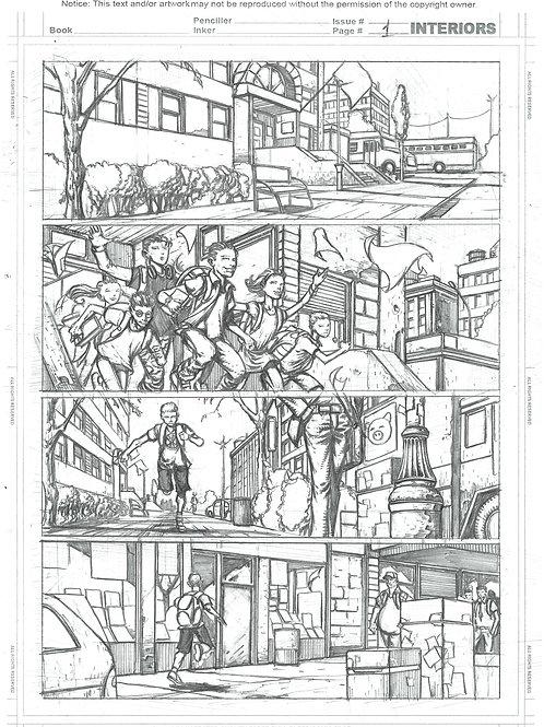 Spellbound #1, Page 01 - Pencils