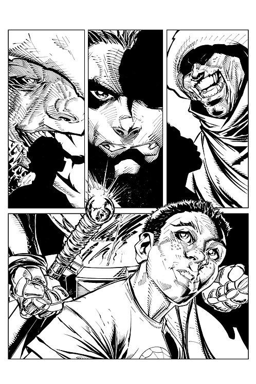 Spellbound #1, Page 20 - Inks