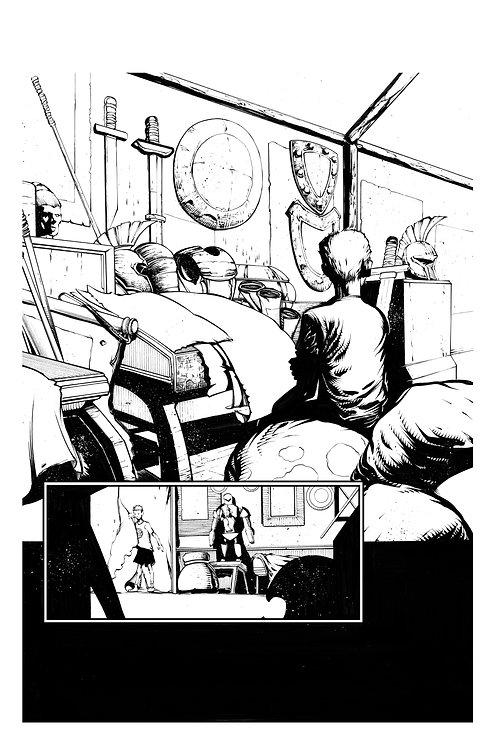 Spellbound #1, Page 05 - Inks