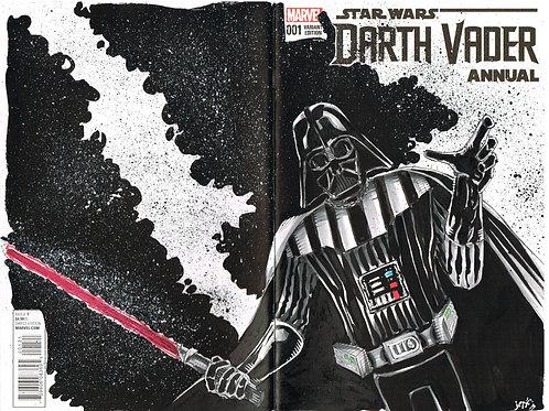 Darth Vader - bustsketch