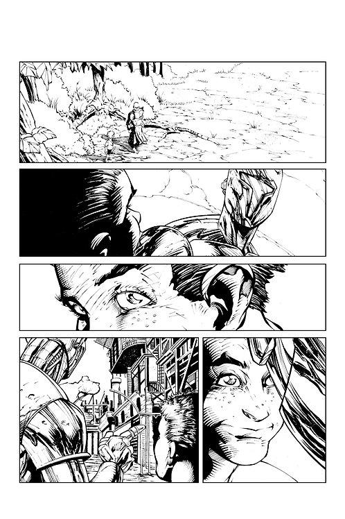 Spellbound #1, Page 14 - Inks
