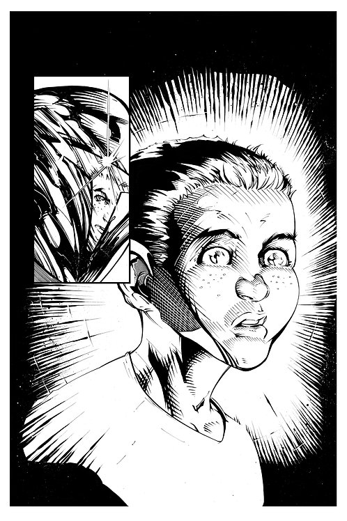 Spellbound #1, Page 12 - Inks